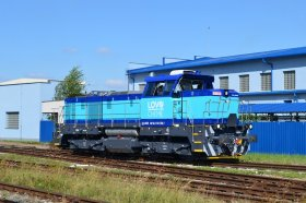 Lovochemie received the first Class 741.7 locomotive